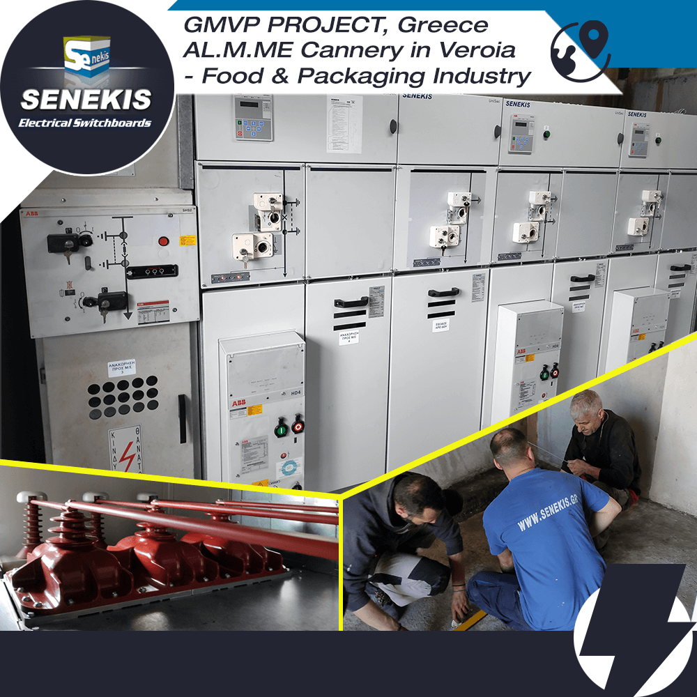 GMVP PROJECT, Greece AL.M.ME Cannery in Veroia  - Food & Packaging Industry