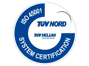 Total Quality SENEKIS  certified with ISO 45001:2018 (Transition from OHSAS 18001:2007)
