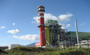Electricity production station of 435MW