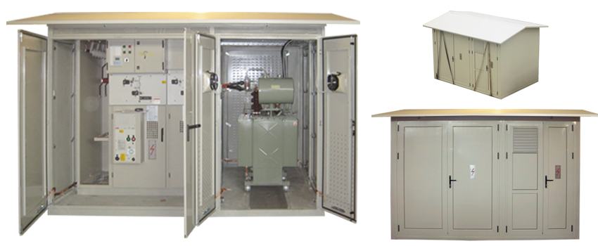 Compact/Packge Kiosk-Type Outdoor Substations